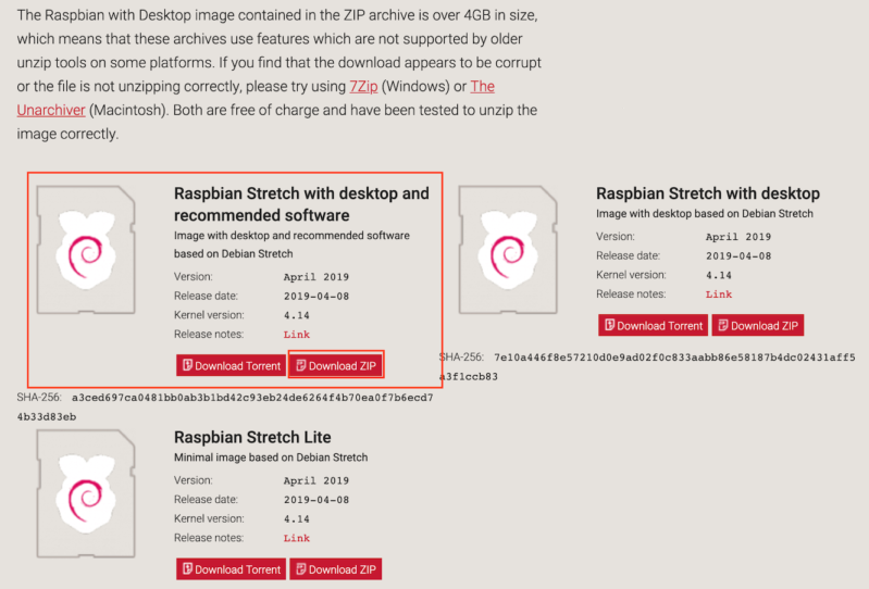 raspbian-stretch-raspberry-pi-download-zip