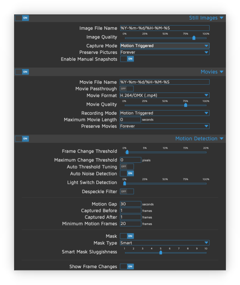 motion-eye-os-settings-nistkasten-vogel-haus-kamera-raspberry-pi